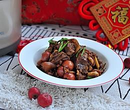 过了腊八就是年 ,上年菜~红焖山楂羊肉的做法