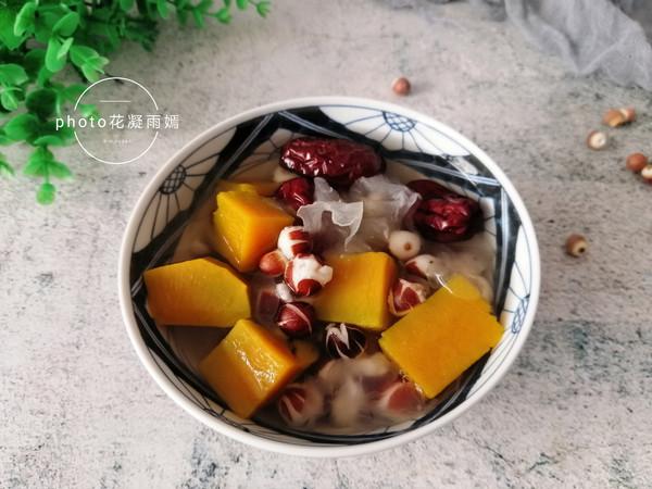 南瓜芡实甜汤的做法