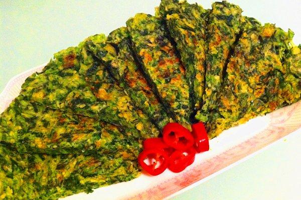 美味菠菜饼的做法