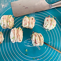 #新春美味菜肴#火腿葱花卷的做法图解7