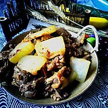 冬瓜焖鸭肉