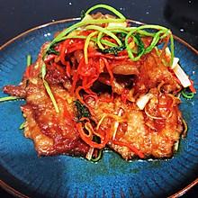 #换着花样吃早餐#东北硬菜锅包肉