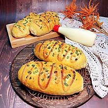 #321沙拉日#沙拉肉松面包