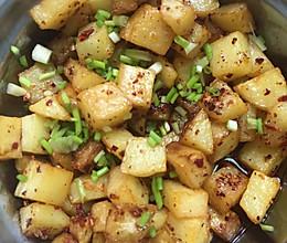 辣椒面土豆粒的做法