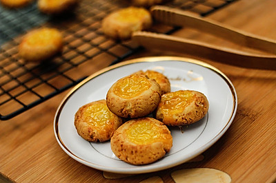 特浓奶香果酱酥饼