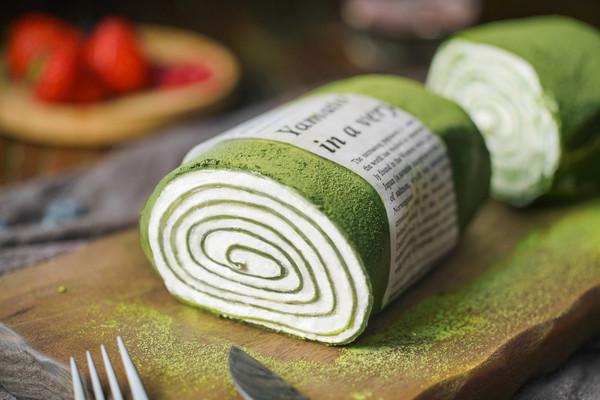 日食记丨抹茶毛巾卷的做法