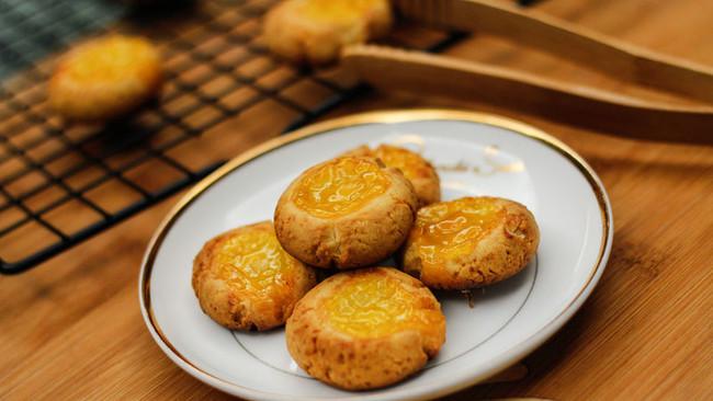 特浓奶香果酱酥饼的做法