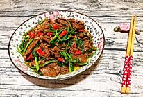 小炒香菜牛肉
