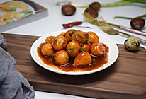 茄汁鹌鹑蛋#快手又营养,我家的冬日必备菜品#的做法