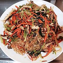 韩国拌杂菜