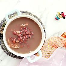 #夏日开胃餐# 榴莲壳红豆汤
