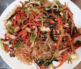 韩国拌杂菜的做法
