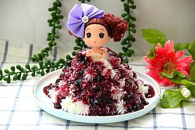 公主版蓝莓山药泥