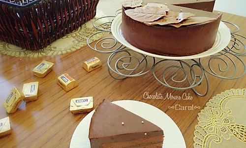 巧克力慕斯蛋糕♡的做法