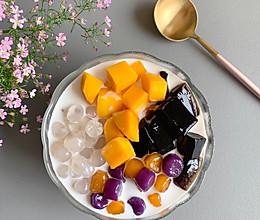 烧仙草芋圆水果捞的做法