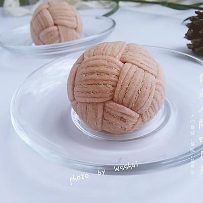 椰蓉绣球酥