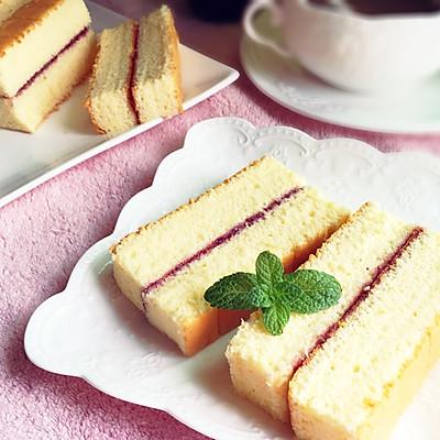 蓝莓酱棉花蛋糕