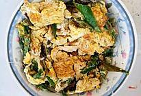青线椒炒鸡蛋的做法