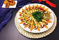团圆菜~孔雀开屏鱼的做法