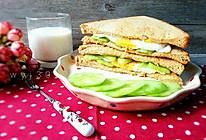 黄瓜三明治(清新低卡)的做法