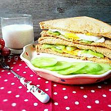 黃瓜三明治(清新低卡)