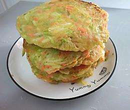 西葫芦胡萝卜鸡蛋饼,好看健康也好吃的做法