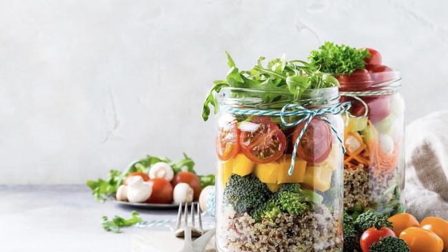 Salad in a Jar罐装沙拉の完美公式的做法