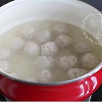 冬瓜汆丸子汤的做法图解8