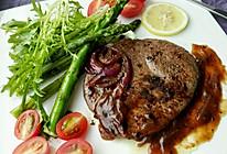 红酒黑椒牛排#豆果&顺丰原切牛排#的做法