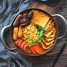 #洗手作羹汤#暖暖的—韩式部队锅