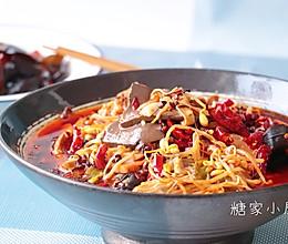 #精品菜谱挑战赛#川香毛血旺的做法