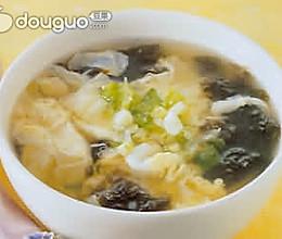 虾皮紫菜蛋汤的做法