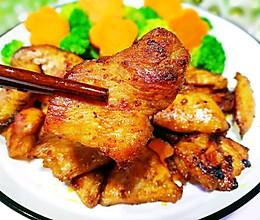 #童年不同样,美食有花样#蜜汁香煎鸡胸肉的做法