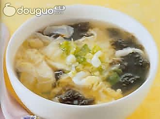 虾皮紫菜蛋汤