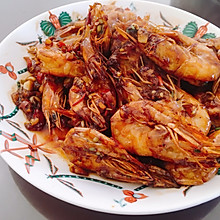 椒盐虾。虾这样做多吃一碗饭