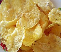微波炉烤薯片超简单的做法