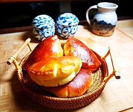 卡仕达面包的做法