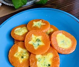 宝宝辅食—胡萝卜蛋饼的做法