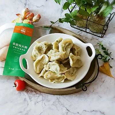 鸡肉韭菜饺子