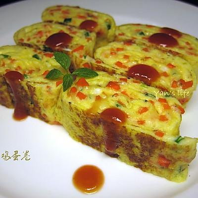 芝士鸡蛋卷——利仁电火锅试用菜谱