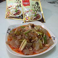 大喜大牛肉粉试用----炒蘑芋豆腐的做法图解15