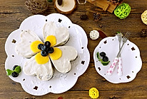 能带来好运的--四叶草蓝莓慕斯蛋糕#豆果5周年#的做法