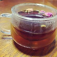 红糖姜枣玫瑰花茶