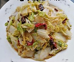 炝炒酸辣白菜的做法