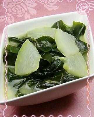 海带冬瓜汤的做法