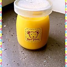 菠萝牛奶布丁