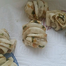 油渣葱花卷