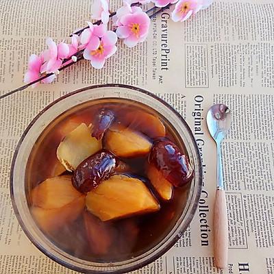 生姜红枣红糖地瓜水