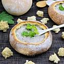 提高免疫,面包香菇浓汤#柏翠辅食节-春节辅食#