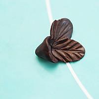 巧克力玫瑰花的做法图解12